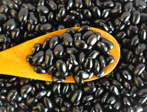 Black Beans: Toast with Black Bean paste